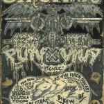 Bike Wars & Punx Picnic poster 2014