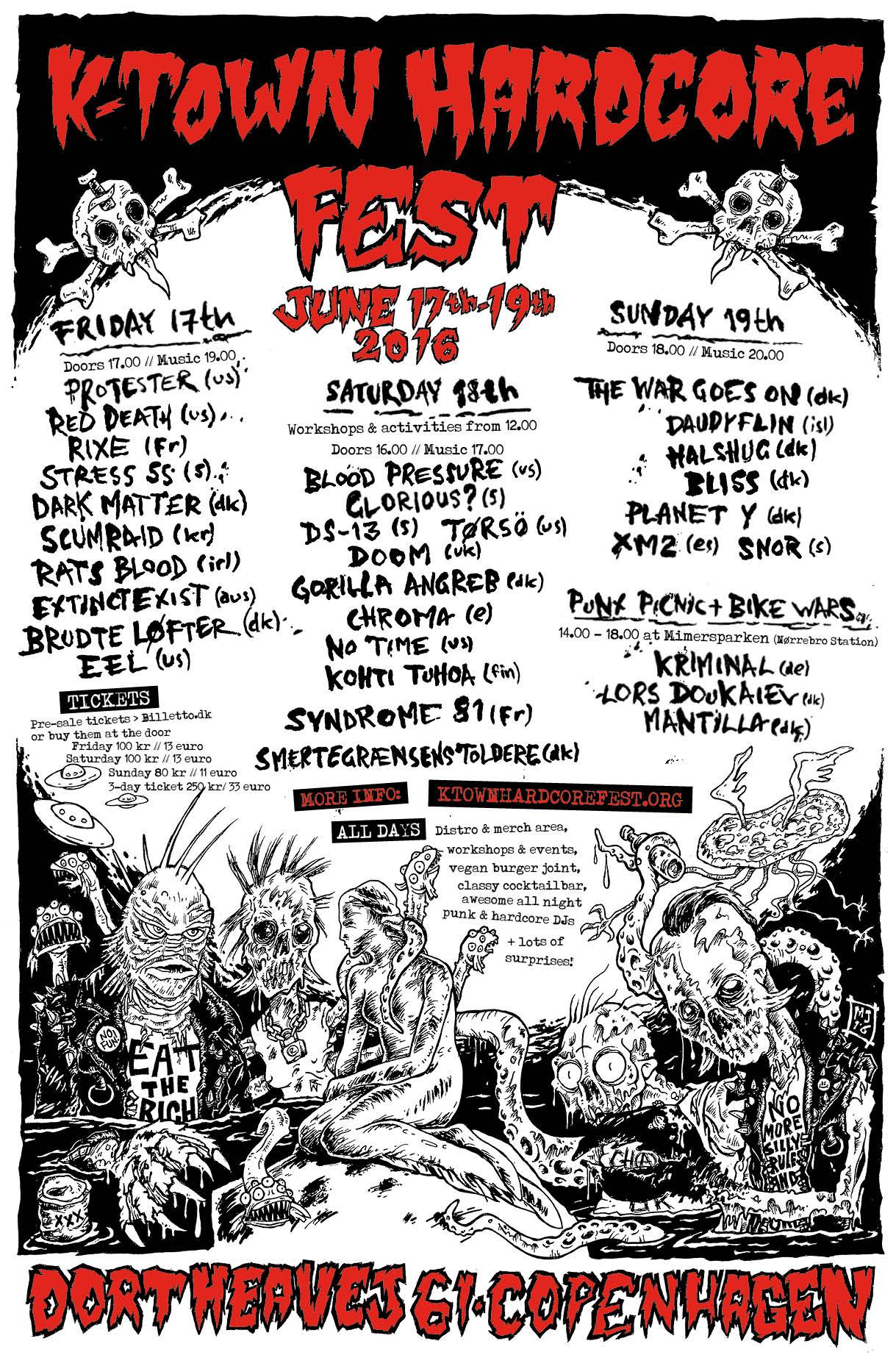 K-TOWN HARDCORE FEST 2016