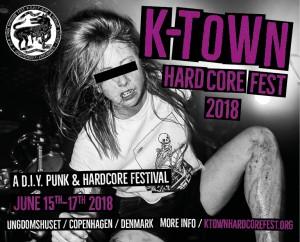 K-TOWN HARDCORE FEST 2018